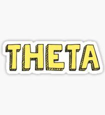 Theta Block Sticker