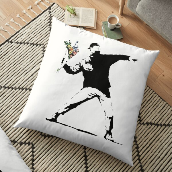 Rage Flower Thrower Pillows Cushions Redbubble