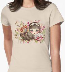 Hidden Garden Womens Fitted T-Shirt