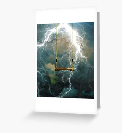 A STORM RAVAGING OUR CHILDREN Greeting Card
