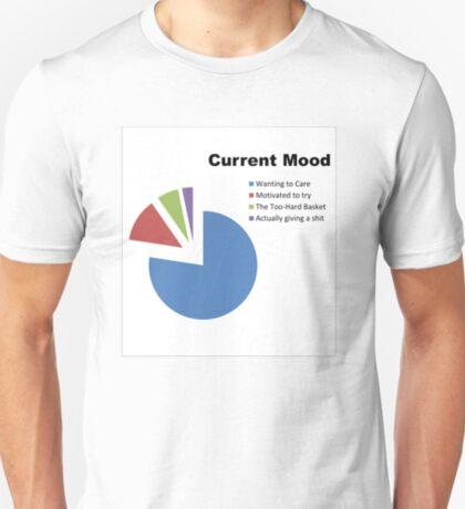 Current Mood Pie Chart T-Shirt