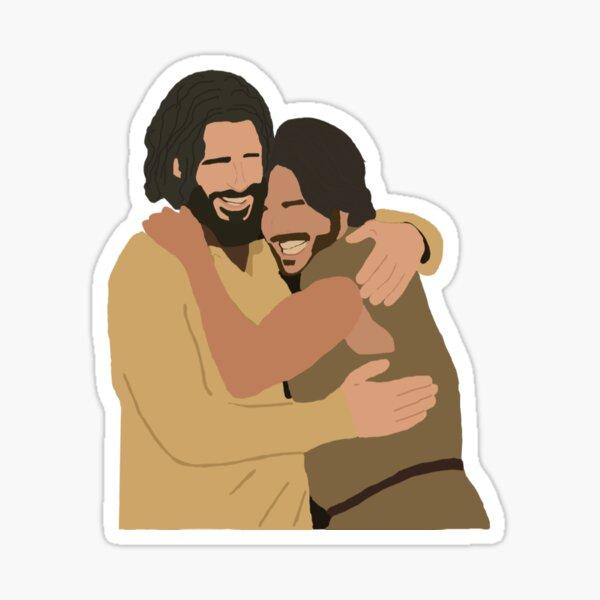 The Chosen: Simon and Jesus Sticker