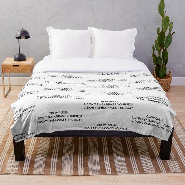 Below Deck Crew Rules  Throw Blanket