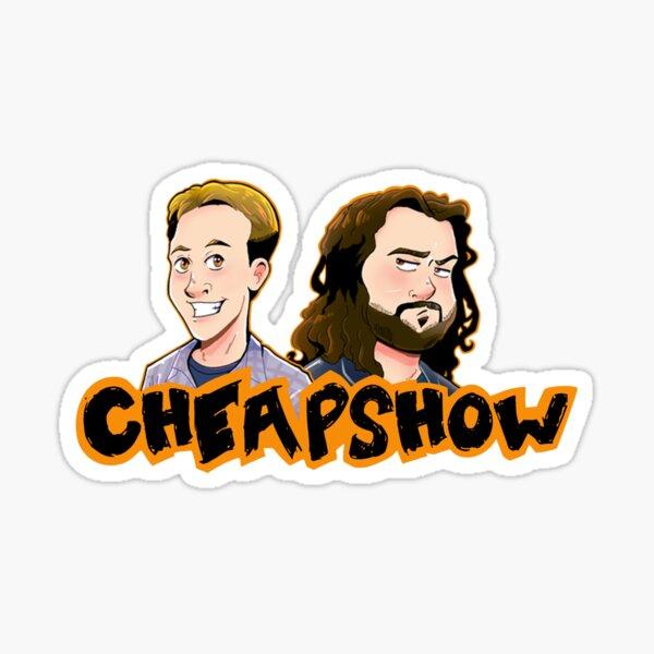 CheapShow 'Tooned up Sticker