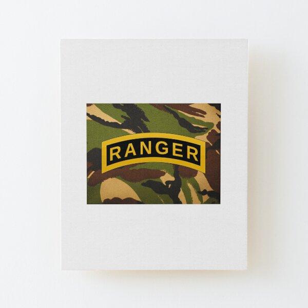 US rangers XL Wood Mounted Print