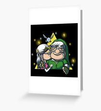 Legend Of Zelda - You Are My Greatest Adventure Greeting Card