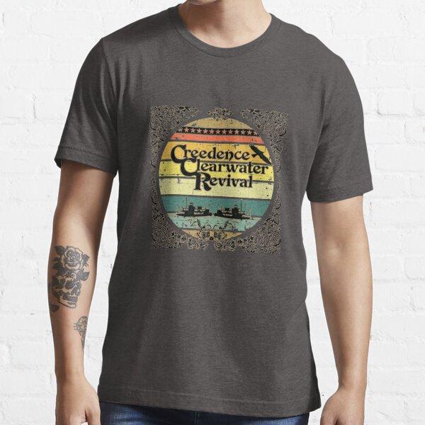 Embarcaciones fluviales Creedence Clearwater Revival Camiseta esencial