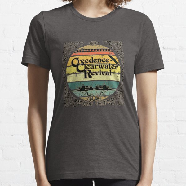 Creedence Clearwater Revival Riverboats Essential T-Shirt