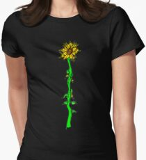 """""""Solus Florum"""" Womens Fitted T-Shirt"""