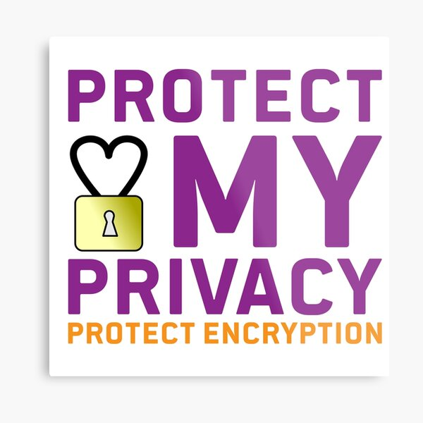 Protect Encryption Metallbild