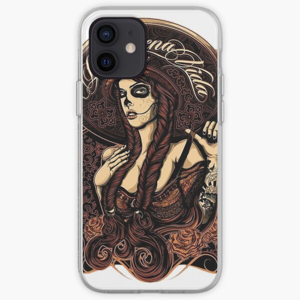 Santa Muerte iPhone Soft Case
