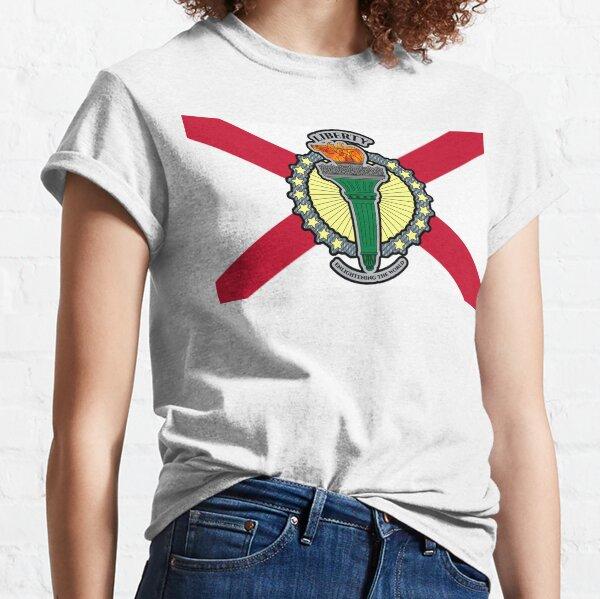 Liberty - Enlightening The World Northern Irish Flag Classic T-Shirt
