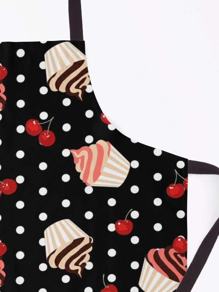 Alternate view of Rockabilly Cherry Cupcakes Apron