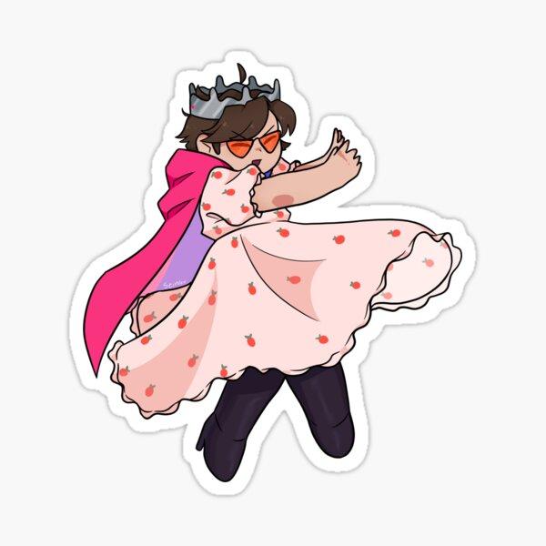 Eret Strawberry Dress Sticker