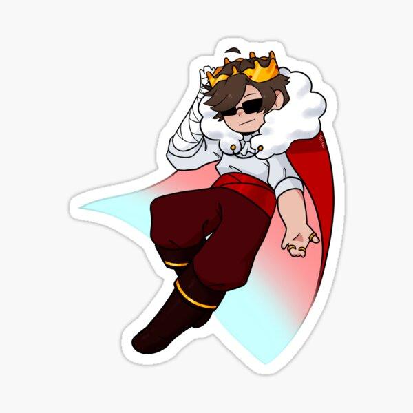 Eret King Suit Sticker