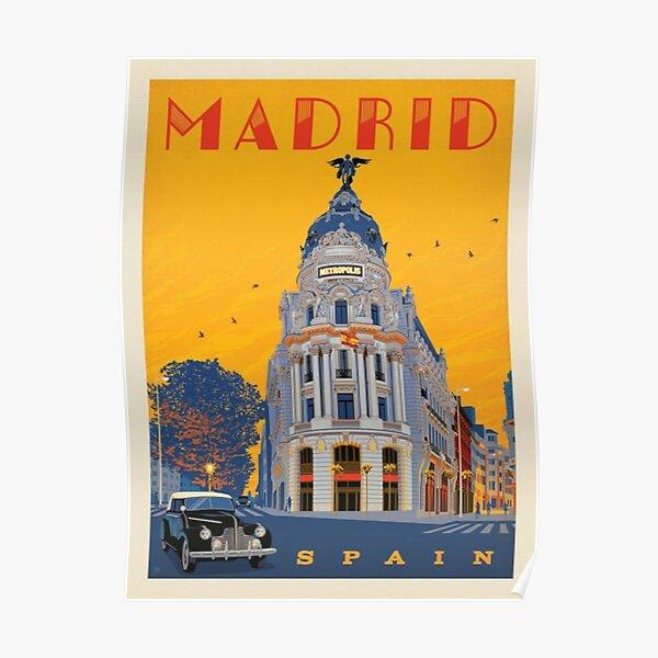 Madrid, Spain Poster