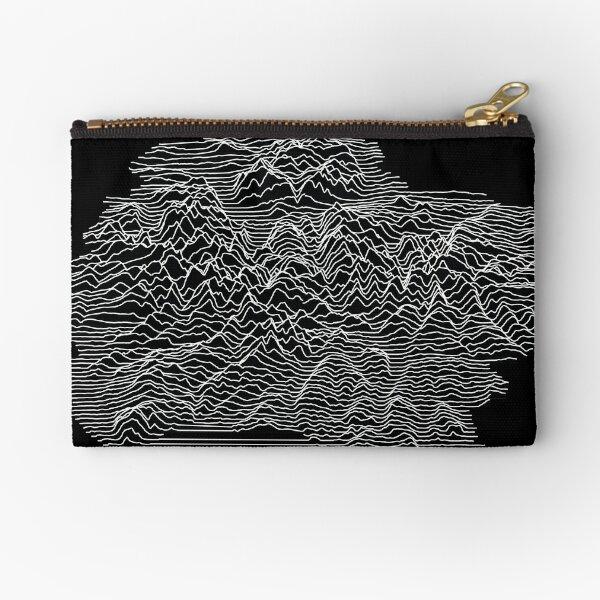 Joy plot - Lake District (black) Zipper Pouch