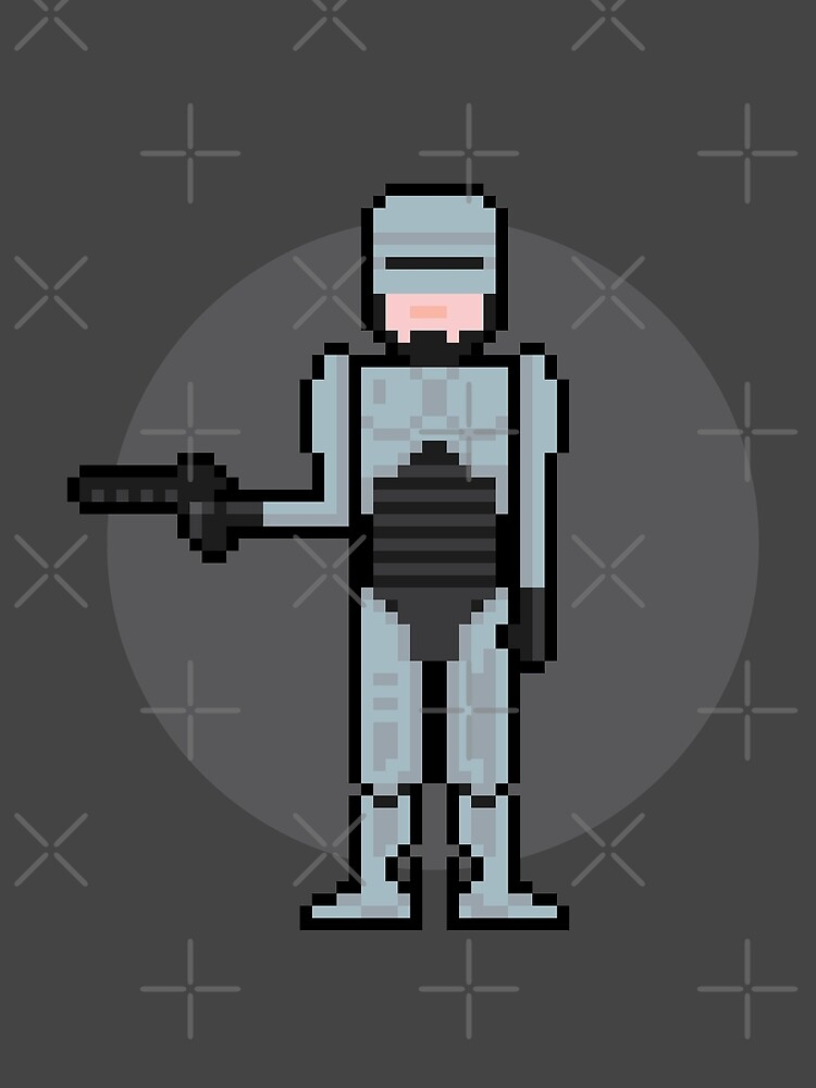 8Bit Robocop by The World Of Pootermobile
