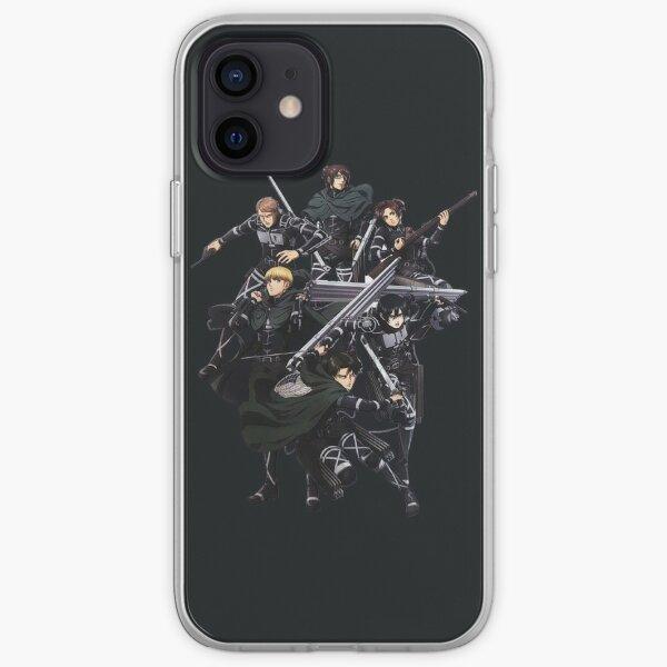 SnK - Shingeki no Kyojin Coque souple iPhone
