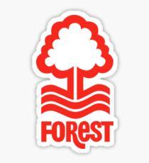 nottingham forest logo Sticker