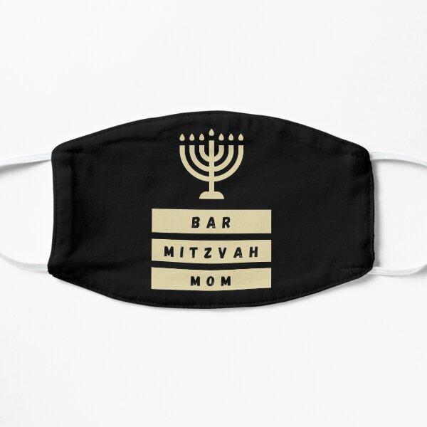 Bar Mitzvah Mom Flat Mask