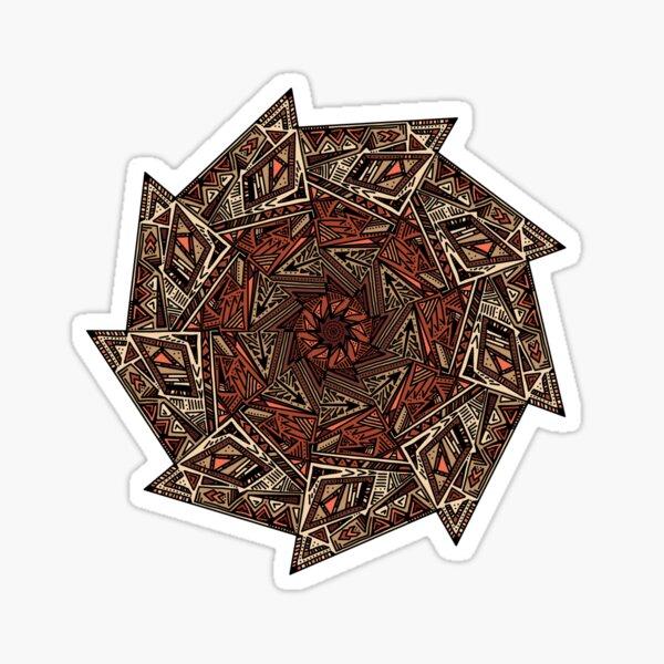Tribal Edgeicon Mandala Sticker