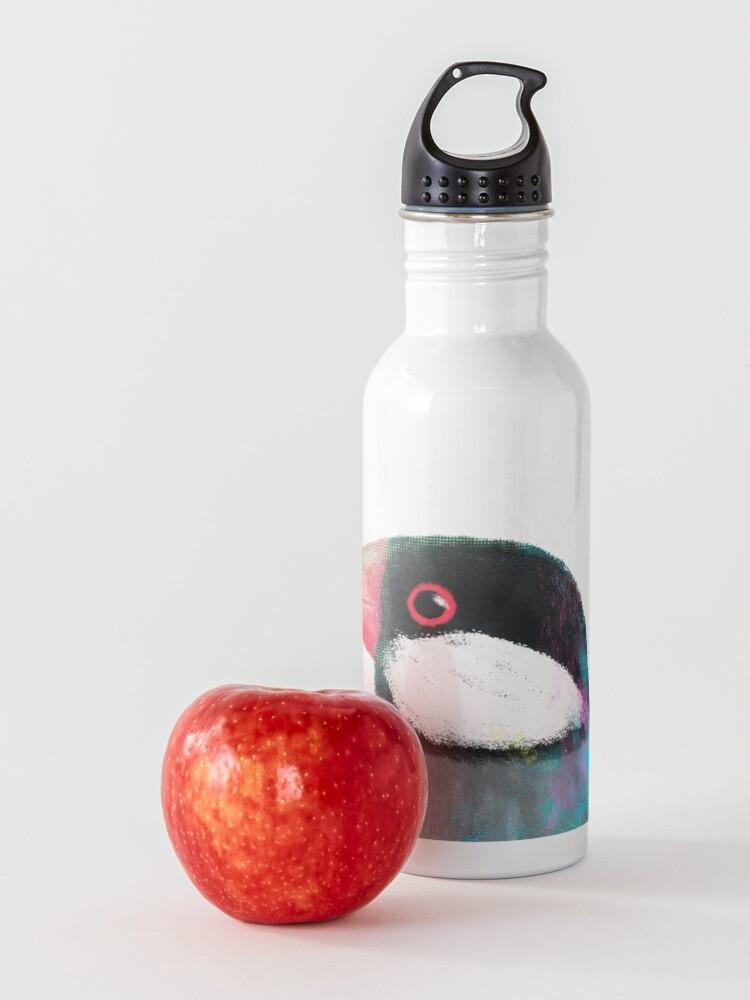 Alternate view of Java Sparrow Bird Water Bottle