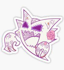 Haunter Pokemuerto   Pokemon & Day of The Dead Mashup Sticker