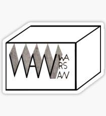 Warsaw Box Sticker