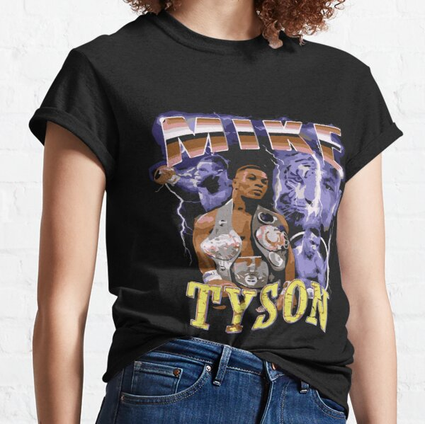 Mike Tyson vintage Inspired 90's T-shirt Classic T-Shirt