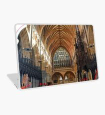 Beautiful Arches of Exeter Cathedral, Devon UK Laptop Skin
