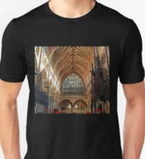 Beautiful Arches of Exeter Cathedral, Devon UK Unisex T-Shirt