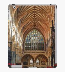 Beautiful Arches of Exeter Cathedral, Devon UK iPad Case/Skin