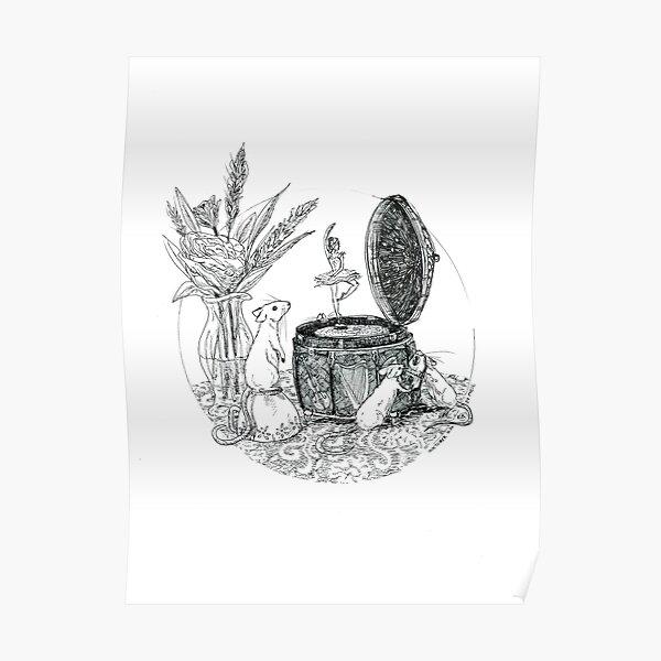 Les souris II (La boîte à musique) Poster