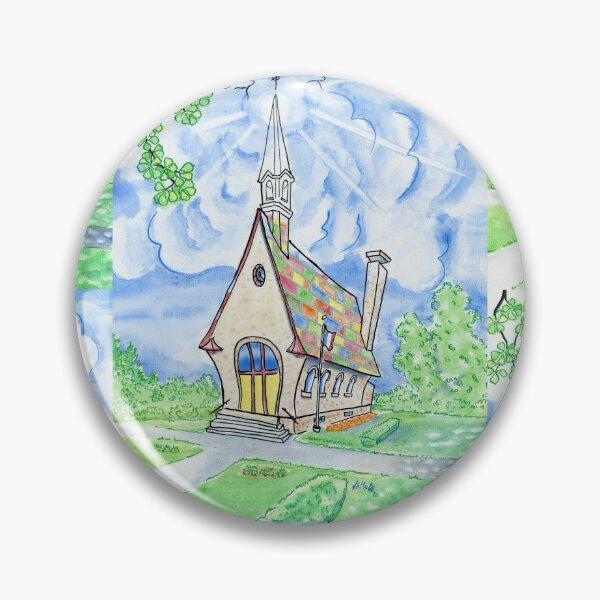 Grand Belle Vue , Grand Pre, Church, Acadian Pin