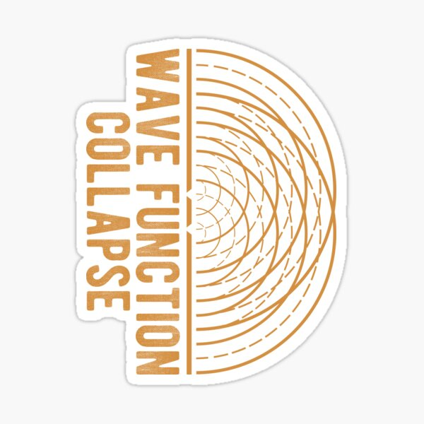 Wave Function Collapse Sticker