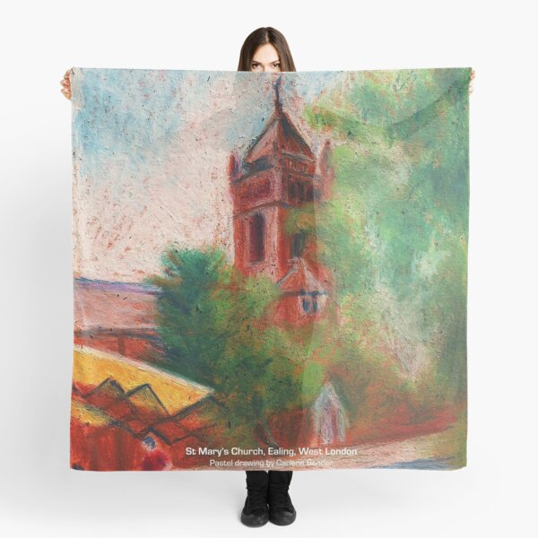 St Mary's church, St Mary's Road, Ealing, West London Scarf