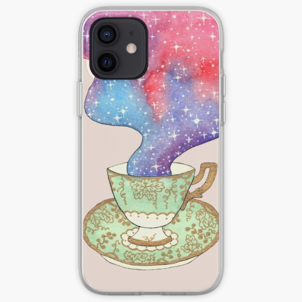 A cup of space iPhone Soft Case
