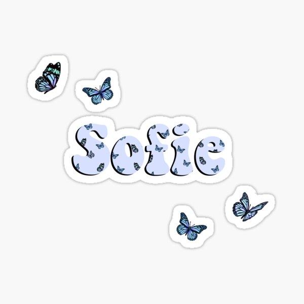 Sofie butterfly  Sticker