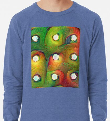 #DeepDream Lights Lightweight Sweatshirt