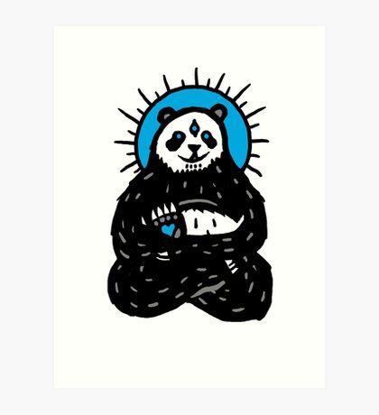 Spirit Panda Art Print