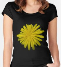 Just A Yellow Flower Women's Fitted Scoop T-Shirt
