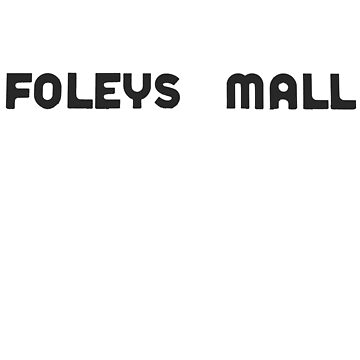 Foleys mall - charcoal by mcdf