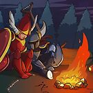 Campfire Tribute by Pehesse