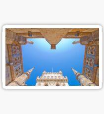Torre de Belém. belem tower cloister. Sticker