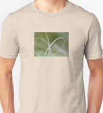 Macro of A Green Palm Tree Leaf Unisex T-Shirt