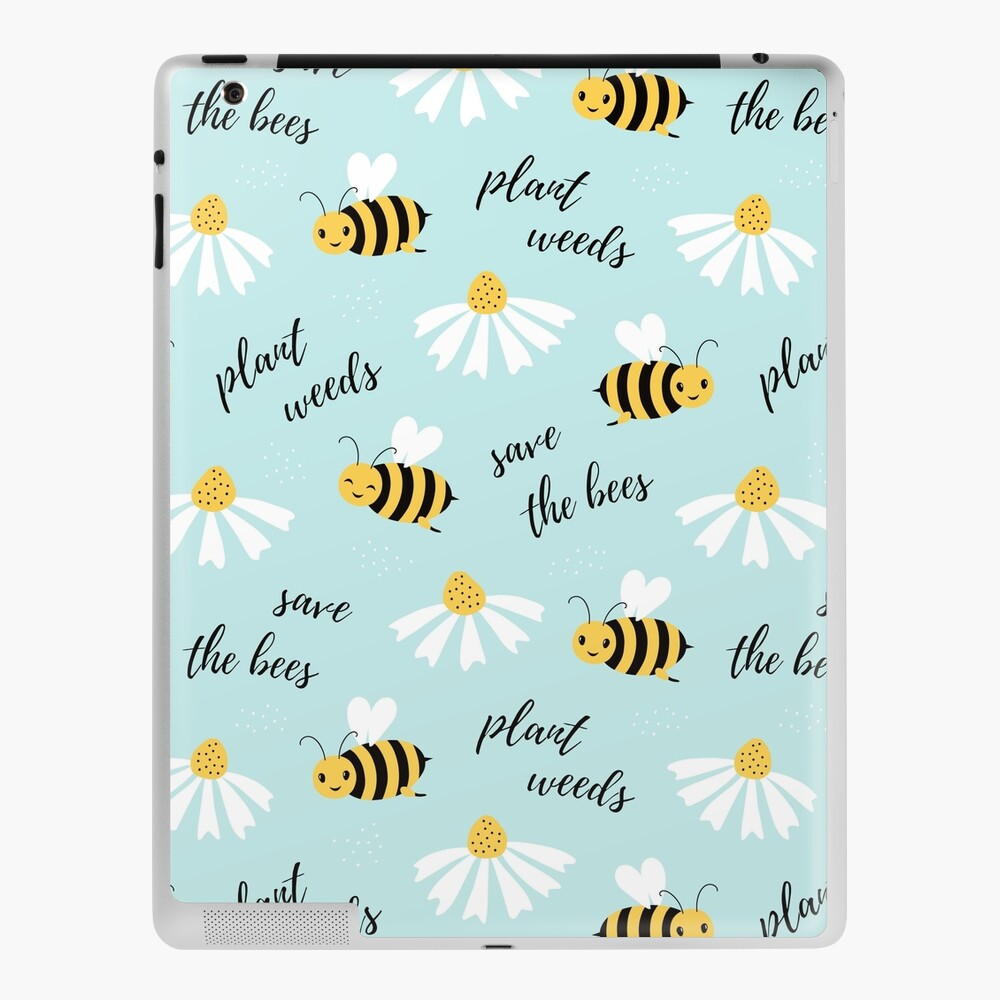 Save the Bees iPad Case & Skin