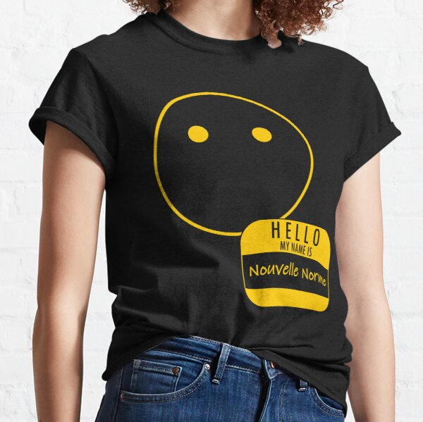 Voiceless: Hello My Name is Nouvelle Norme Classic T-Shirt