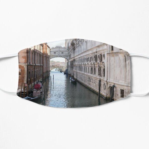 Classic Venetian - Gondolas Under the Bridge of Sighs Flat Mask