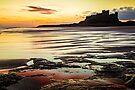 Bamburgh Castle Sunrise by David Lewins